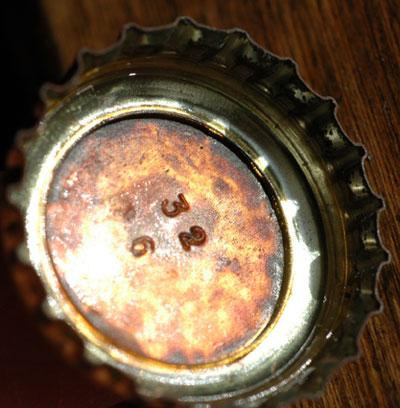 Rusted cap