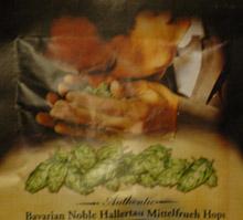 Samuel Adams hops sample