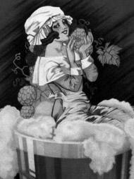IPA - Woman and hops