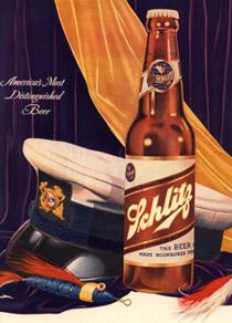 Schlitz advertisement
