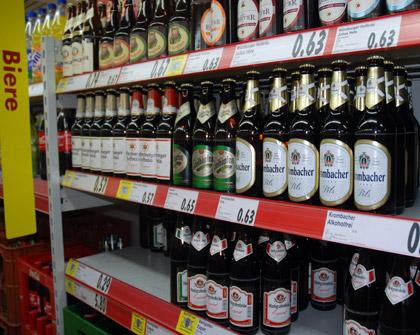 Beer in Wertheim, Germany