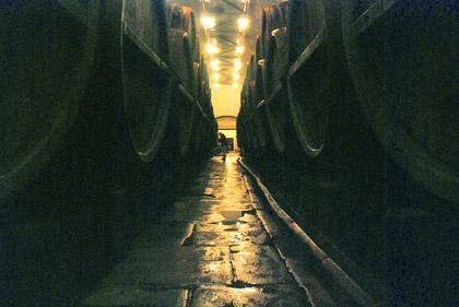 Pilsner Urquell cellars