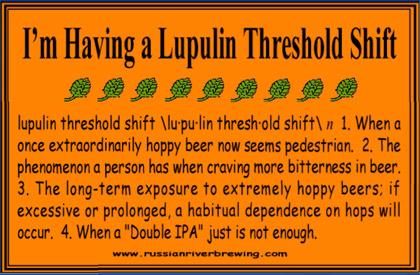 Lupulin Threshold Shift