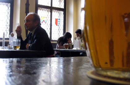 Beer in the local