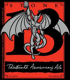 Stone 13th Anniversay Ale