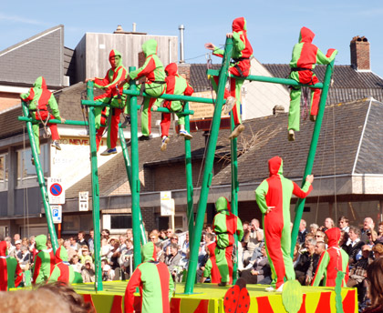 Parade at Poperinge Hops Festival