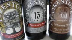 Firestone Walker Anniversary Beers