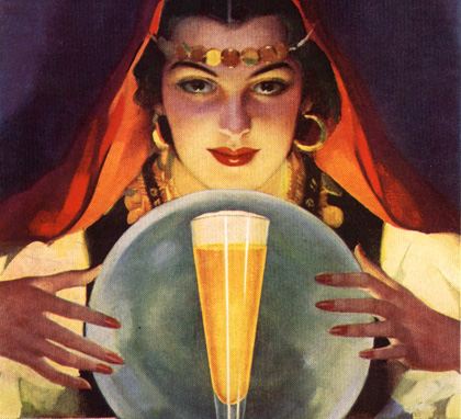 Looking into the beer crystal ball