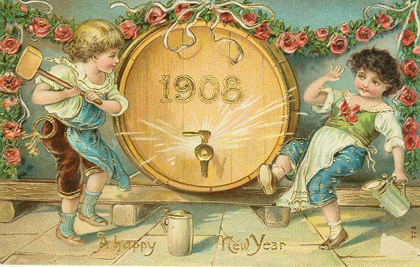 Happy New Year - Party like it's 1908
