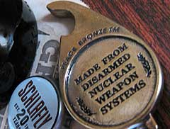 Beers Not Bombs Bottle Opener