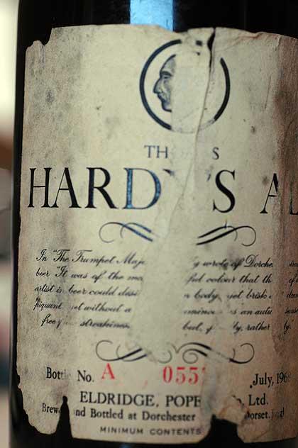 1968 Thomas Hardy's label