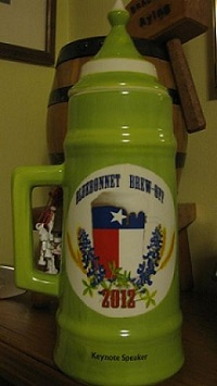 Bluebonnet Brew-Off Stein