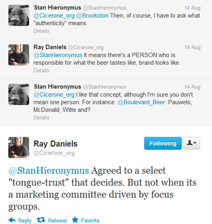 Ray Daniels talking about authentic