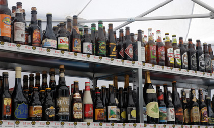 Beers for sale at Festiwal Birrofilia