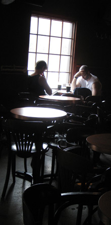 Pub contemplation